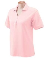 Image Devon & Jones Ladies Pima Pique Short-Sleeve Polo