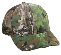 Image Outdoor Camo Mesh Hi Beam LED Light Cap