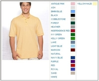 Image Cotton Deluxe by Anvil 6.5 oz Cotton Pique Knit Polo