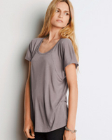 Image Bella Ladies 3.7 oz. Flowy Raglan T-Shirt