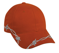Image Outdoor-Barbed Wire Design Cap