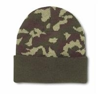 Image Knit Military Green Camo Beanie