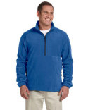 Image Devon & Jones Wintercept Fleece Unisex Quarter-Zip Jacket