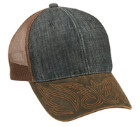 Image Outdoor-Denim Front with Weathered Cotton Visor Mesh Back