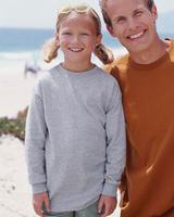 Image Blank Shirts : Gildan 6.1 oz Ultra Cotton Youth Long-Sleeve Tee