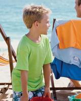 Image Blank Shirts : Gildan 5.5 oz Heavy Cotton Youth Tee