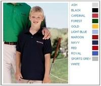 Image Gildan 5.6 oz 50/50 Youth Jersey Polo
