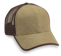 Image Straw Mesh Baseball Cap