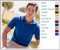 Image Jerzees 5.6 oz 50/50 Blended Jersey Polo