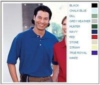 Image Harriton Cotton Pique Mens Short-Sleeve Polo