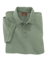 Image Harriton 6 oz Cotton Pique Mens Short-Sleeve Polo