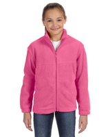 Image Harriton Youth 8 oz. Full-Zip Fleece
