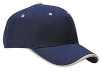 Image Cobra-6-Panel Mid Pro Brushed with Wave Visor