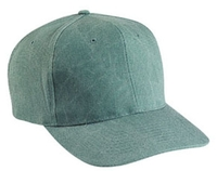 Image Cobra-6-Panel Pro Style Stone Washed Canvas Cap