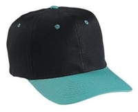 Image Budget Caps | Cobra-6-Panel Pro Two Tone Twill Baseball Cap low as $1.69
