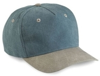 Image Budget Caps | Cobra-5-Panel Low Profile Two Toned Stone Washed