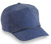 Image Budget Caps | Cobra-5-Panel Stone Washed Canvas