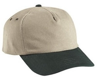 Image Budget Caps | Cobra-5-Panel Heavy Brushed Relaxed Crown