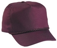 Image Budget Caps : Cobra-5-Panel Classic Twill Golf Cap