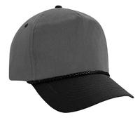 Image Budget Caps | Cobra-5-Panel Two Tone Twill Golf Cap
