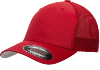 Image Yupoong Flexfit Cotton Trucker Mesh Hat