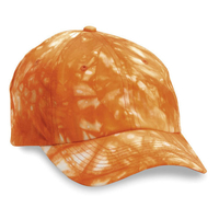Image Budget Caps | Cobra-6 Panel Relaxed Tie Dyed Cotton