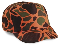 Image Budget Caps | Cobra-5-Panel Camouflage Full Winter Foam Billed