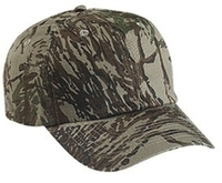 Image Cobra-6 Panel Relaxed Crown Twill Camouflage
