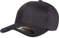 Image Yupoong Stretch to Fit Mid Profile Pinstripe Flexfit