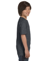 Image Blank Shirts : Hanes 6.1 oz Ringspun Cotton Youth Beefy-T