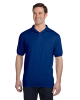 Image Stedman By Hanes 5.5 oz 50/50 Jersey Knit Polo with Pocket