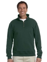 Image Jerzees 9 oz 50/50 Quarter-Zip Pullover with Cadet Collar