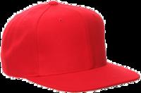 Image Yupoong-Pro Style Wool Baseball Cap w/Flat Bill