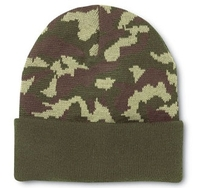 Image Cobra -Knit Military Green Camo Beanie