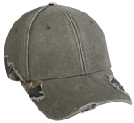 Image Outdoor-Cap Frayed Cap with Camo
