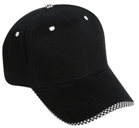 Image Cobra-6 Panel Brushed w/Checker Wave Bill