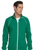 Image Canvas Men's 7.5 oz Piped Fleece Jacket
