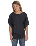 Image Bella Ladies 3.7 oz. Flowy Draped Sleeve Dolman T-Shirt