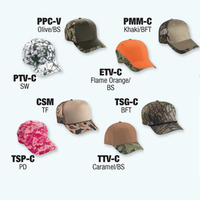 Image 8 Pcs. Basic-Camo Sample Pack