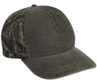 Image Cobra-6-Panel Weather-Washed Camouflage Cap