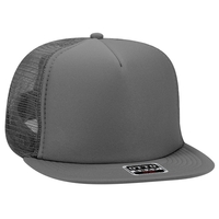 Image Budget Caps | Otto-Foam Front Flat Visor High Crown Golf Style Mesh Back