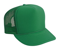 Image Otto-Budget Caps Youth Polyester Foam High Crown Golf Style Mesh Back