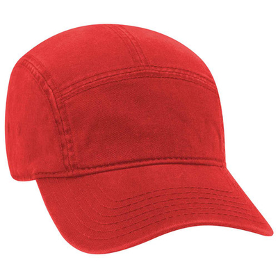 Image Garment Washed Cotton Twill Five Panel Camper Style