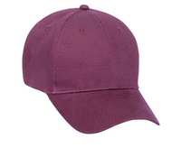 Image Blank Caps   Otto-Brushed Cotton Twill Low Profile Pro Style