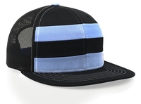 Image Richardson Striped Front Trucker Mesh