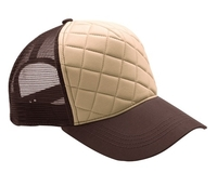 Image Budget Caps | Mega Fashion Quilted Trucker Cap