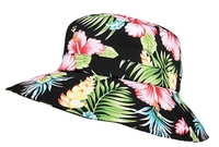 Image Mega Ladies' Wide Brim Floral Bucket Hat