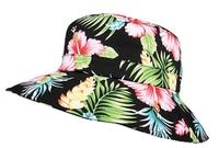 Image Mega Ladies' Wide Brim Floral Bucket Hat