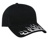 Image Mega-Low Profile (Structured) Deluxe Brushed Cotton Twill Cap