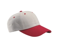 Image Mega-Low Profile Heavy Brushed Cotton Twill Cap